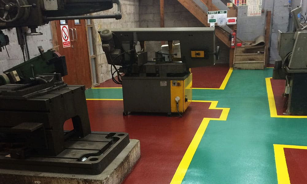 Commercial & Industrial Resin Floor Specialists - Surface Systems South West