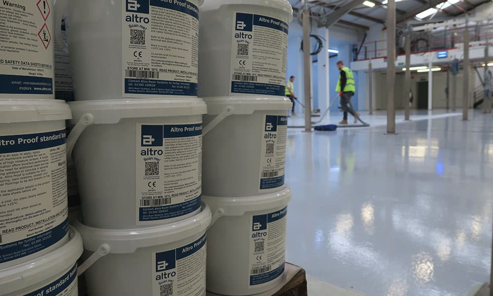 Food Manufacturer Factory Resin Flooring - Commercial & Industrial Specialists - Surface Systems South West