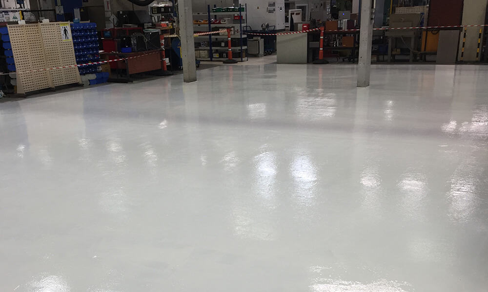 Aerospace Warehouse Flooring - Commercial & Industrial Resin Floor Specialists - Surface Systems South West